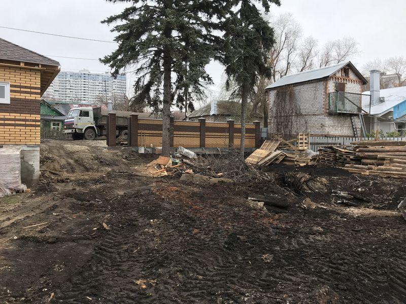 расчистка участка от деревьев и кустарников цена