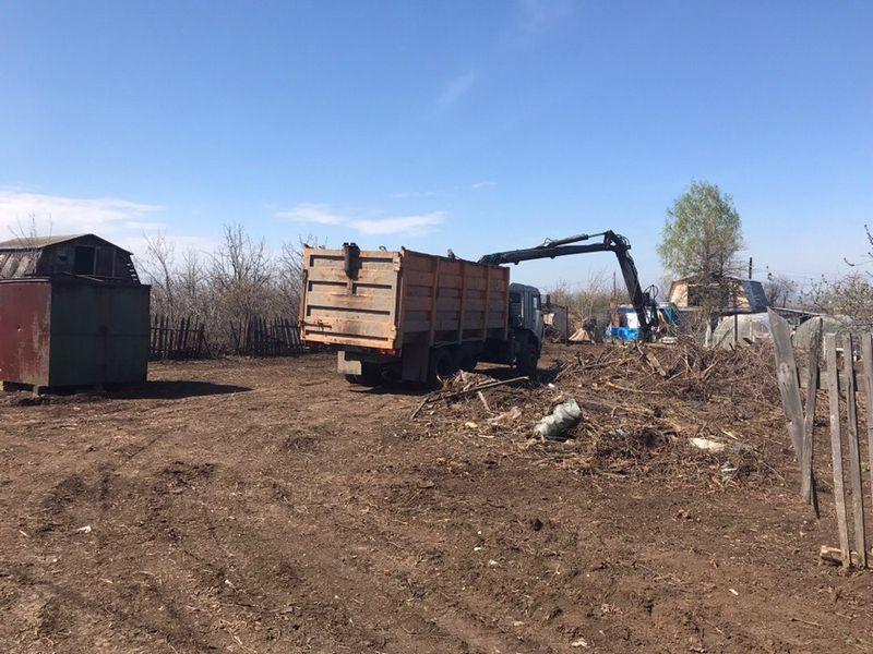 Расчистка участка и покос травы